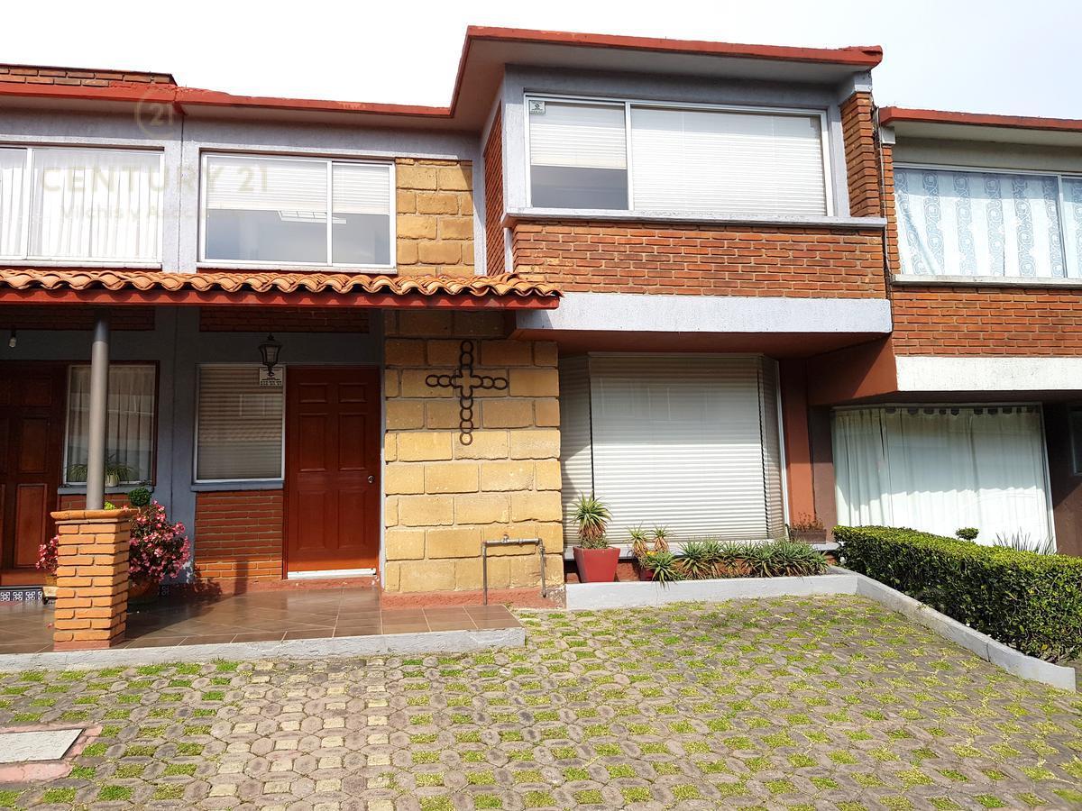 Foto Casa en condominio en Renta en  La Loma,  Toluca  BONITA CASA EN RENTA EN LA LOMA EN SAN FELIPE TLALMIMILOLPAN