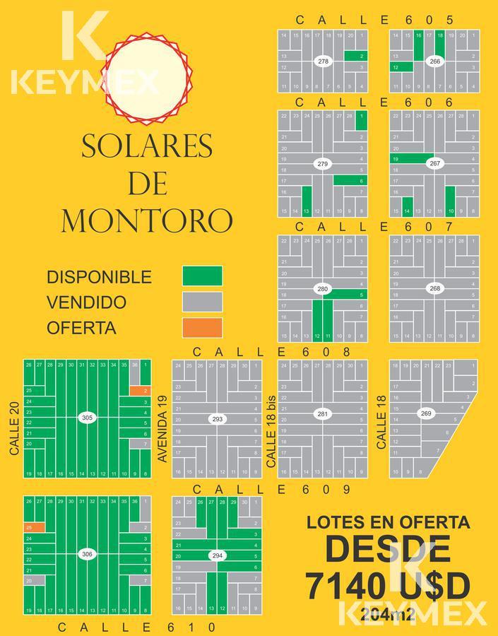 Foto Terreno en Venta en  La Plata ,  G.B.A. Zona Sur  Lotes en OFERTA - Solares de Montoro 610 y 18 bis