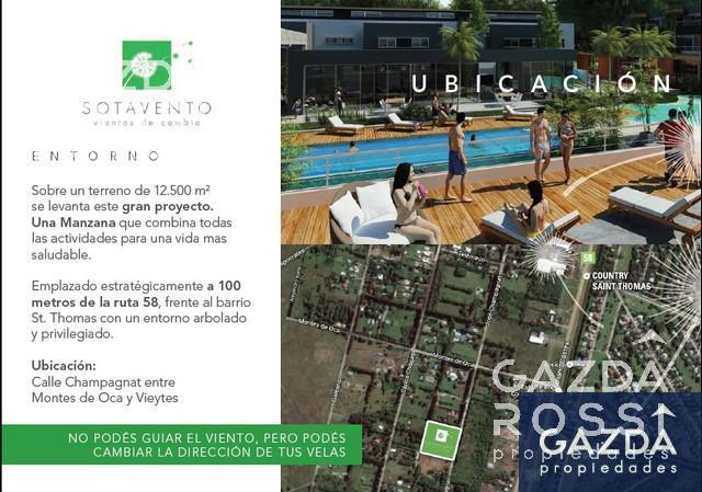 Foto Departamento en Venta en  Sotavento,  Canning  3 amb. c/jardin Bloque Sur S3