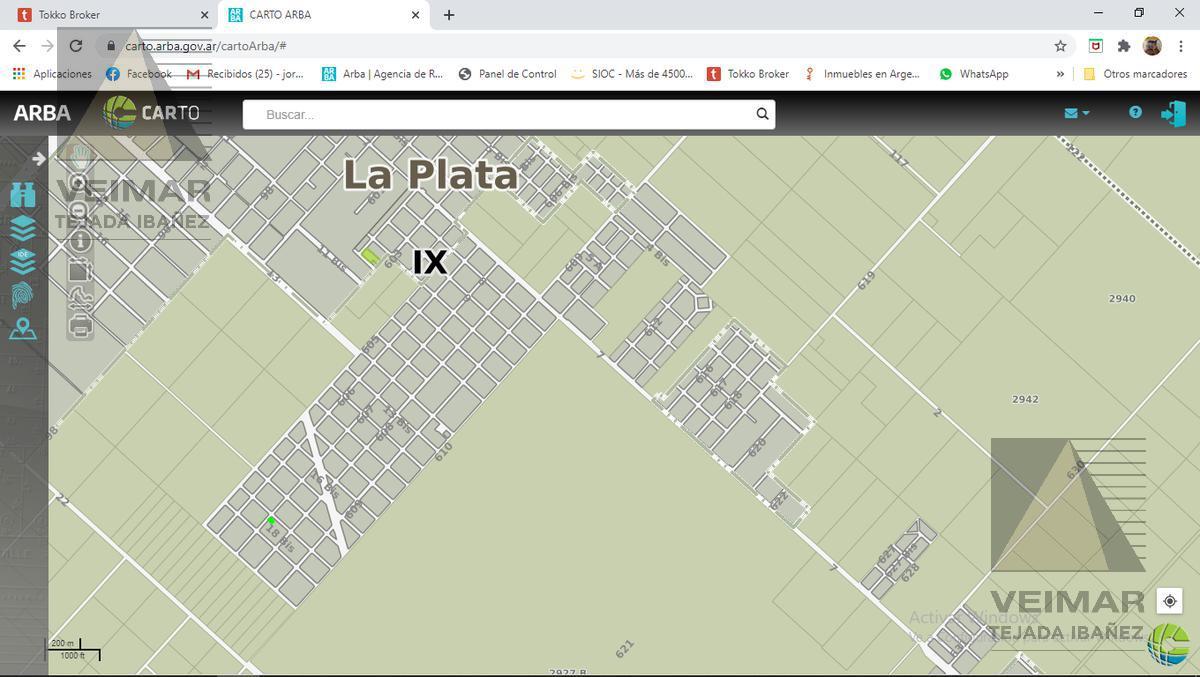 Foto Terreno en Venta en  Villa Parque Sicardi,  La Plata  607 e/ 18 y 18 bis.- VILLA ELVIRA
