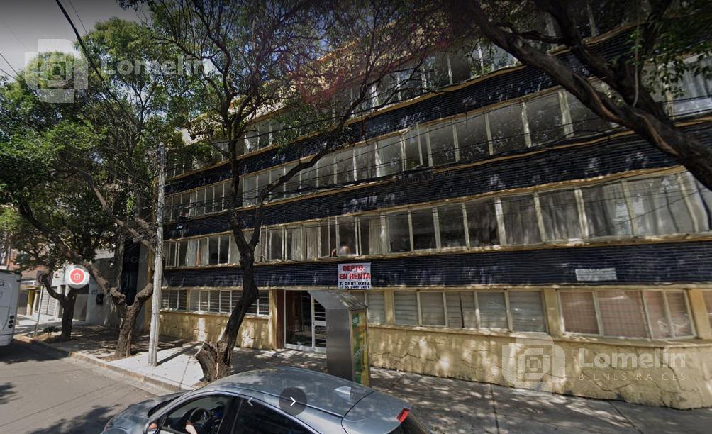 Foto Departamento en Renta en  Del Valle Centro,  Benito Juárez  AMORES 403 Int. 7  Del Valle Centro, Benito Juárez, Ciudad de México, 03100