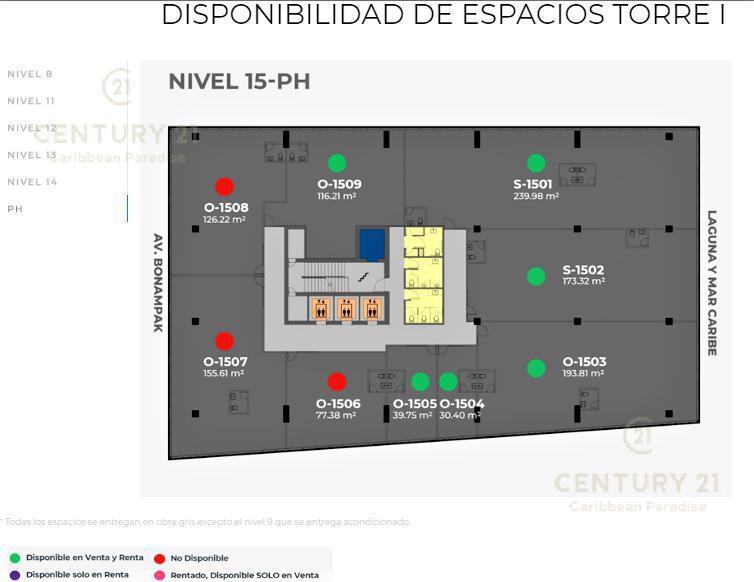 Cancún Oficina for Venta scene image 13
