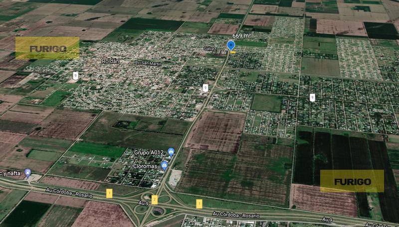 Foto Terreno en Venta en  Roldán ,  Santa Fe  Río Bermejo 800 (Colectora de AO12)