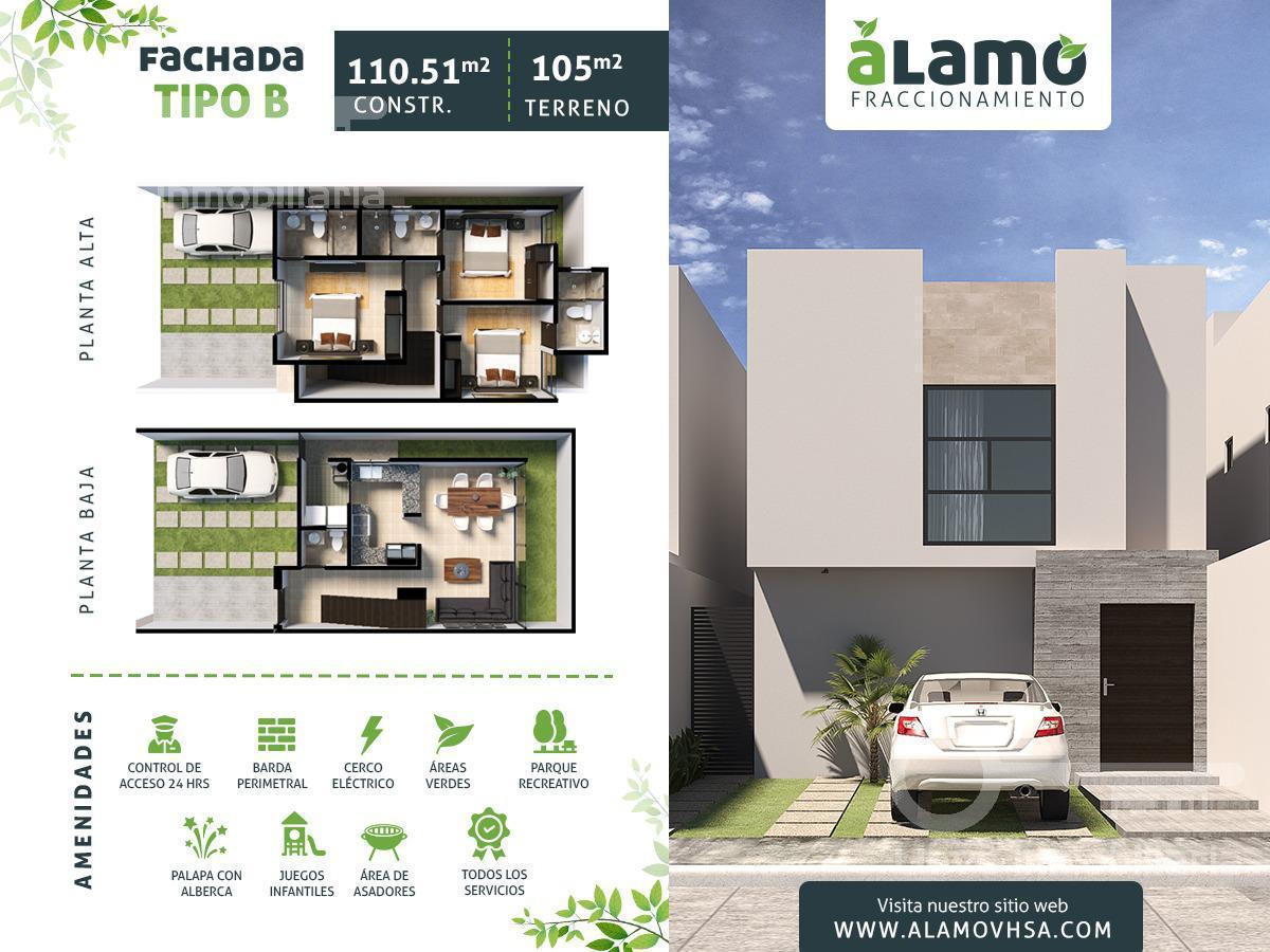 Foto Casa en Venta en  Ciudad Industrial,  Villahermosa  Casa en Venta en Fraccionamiento ALAMO Fachada B Villahermosa Tabasco