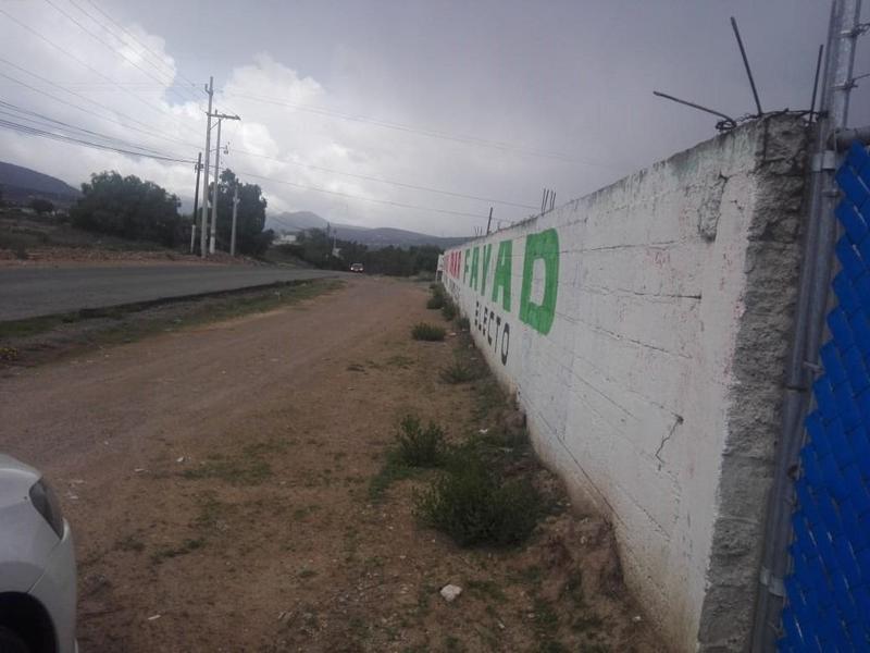 Foto Terreno en Venta en  Mineral de la Reforma ,  Hidalgo  TERRENO  ESQUINA SEMI-BARDADO, PACHUQUILLA, MINERAL DE LA REFORMA