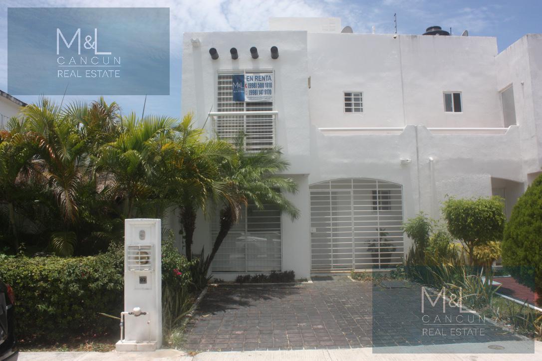Foto Casa en Renta en  Villa Marino,  Cancún  VILLA MARINO Casa en VENTA o  RENTA de 3 recámaras 1 baño amueblada  en Cancún, Quintana Roo