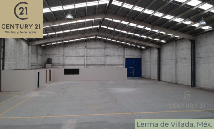 Foto Nave Industrial en Renta en  Isidro Fabela,  Lerma  AV DE LAS PARTIDAS