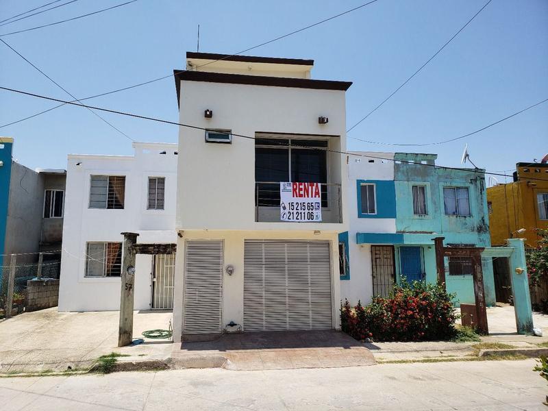 Foto Casa en Renta en  Fraccionamiento Punta Del Mar,  Coatzacoalcos  Cerrada de Limonaria No. 55, Fraccionamiento Punta del Mar, Coatzacoalcos, Veracruz.