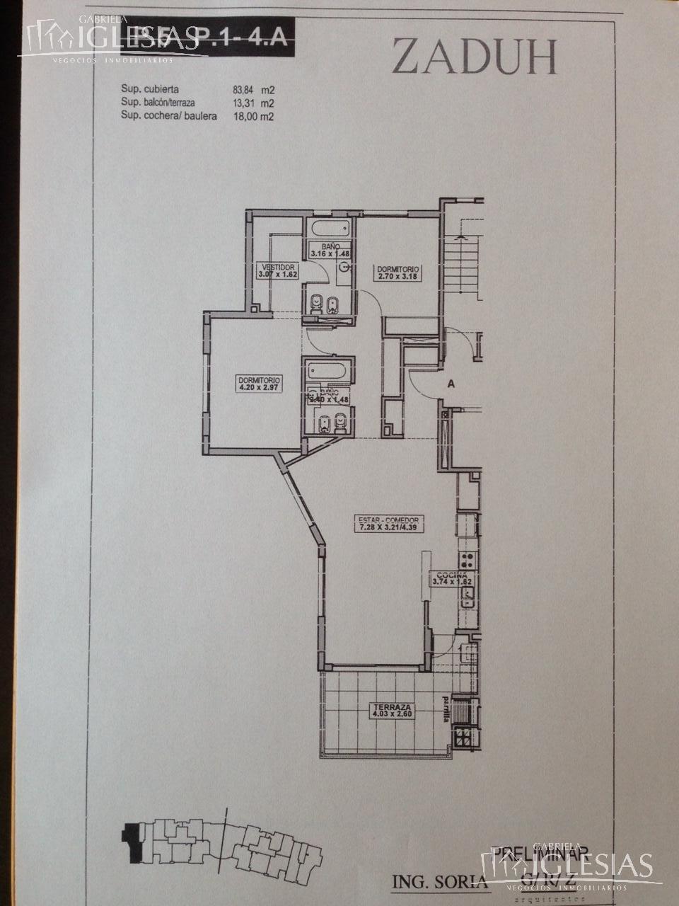 Departamento en Alquiler temporario Venta en Zaduh a Alquiler temporario - $ 35.000 Venta - u$s 290.000