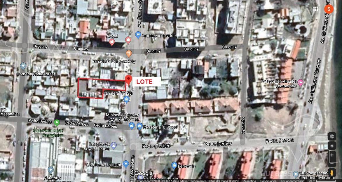 Foto Terreno en Venta en  Puerto Madryn,  Biedma  Av. Domecq García Norte al 500