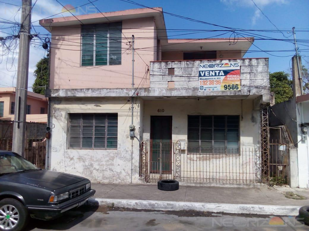 Foto Terreno en Venta en  Del Pueblo,  Tampico  Venta de Terreno con Construcción en Tampico, Col. Del Pueblo