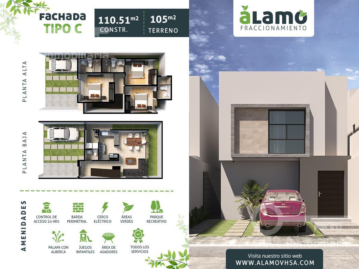Foto Casa en Venta en  Ciudad Industrial,  Villahermosa  Casa en Venta en Fraccionamiento ALAMO Fachada C Villahermosa Tabasco