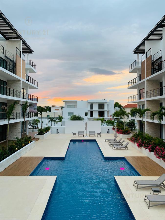 Foto Departamento en Renta en  Supermanzana 12,  Cancún  Condominio Palmar Residencial Cancún en renta  C2846