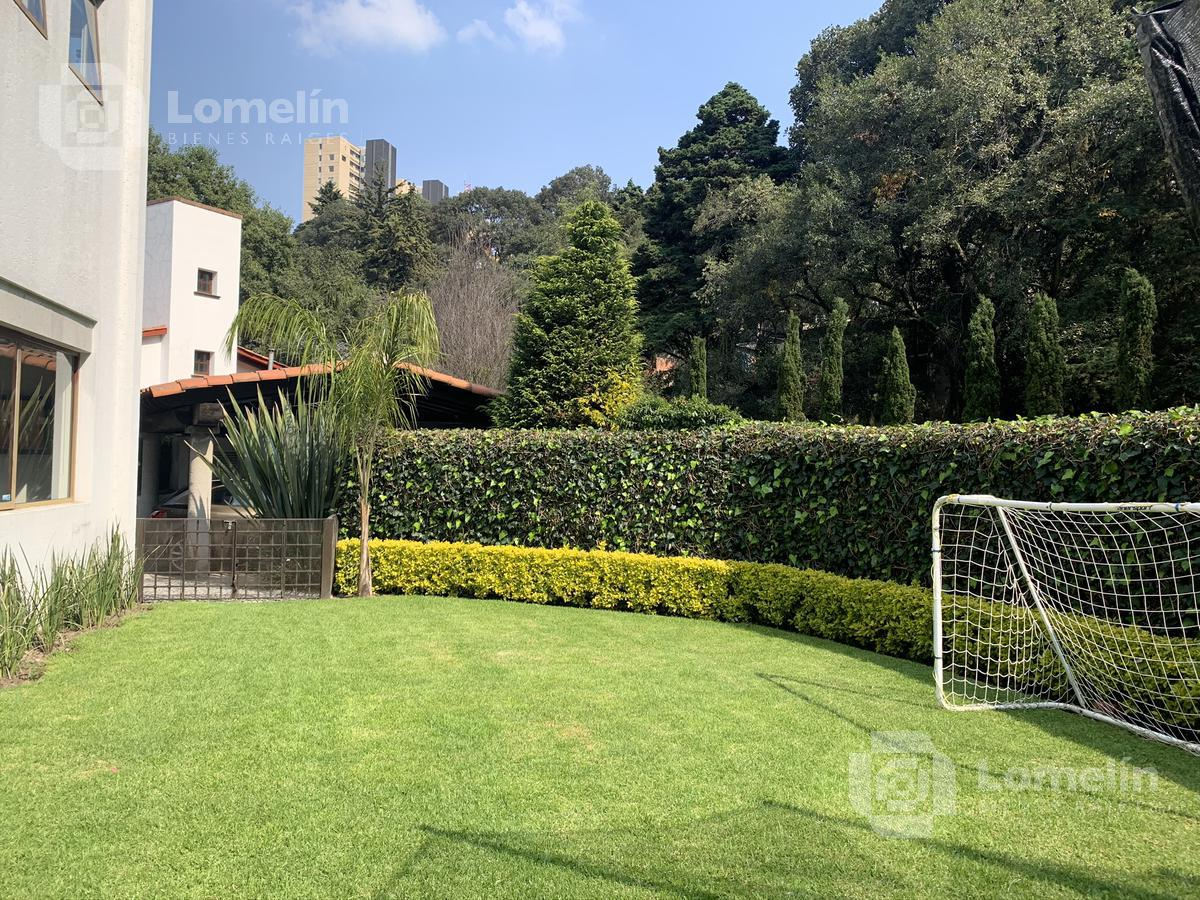 Foto Casa en Venta en  San Bartolo Ameyalco,  Alvaro Obregón  TENIS SAN FRANCISCO - CASA EN CONDOMINIO - AMPLIO JARDIN - CDMX