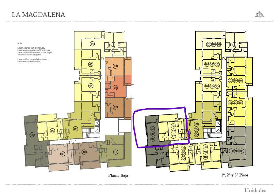 Departamento-Venta-Manuel Alberti-Town houses - La Magdalena