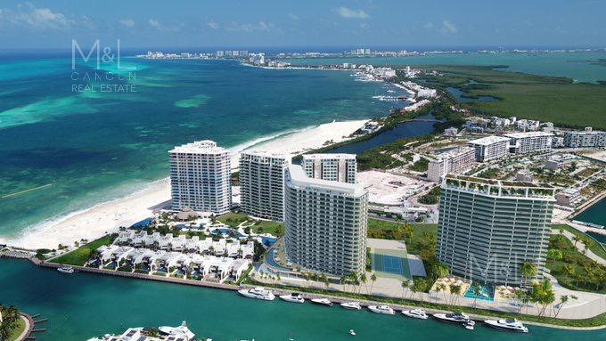 Foto Departamento en Venta en  Puerto Cancún,  Cancún  SLS Harbour Beach Cancún, Departamento en venta 4 Recámaras