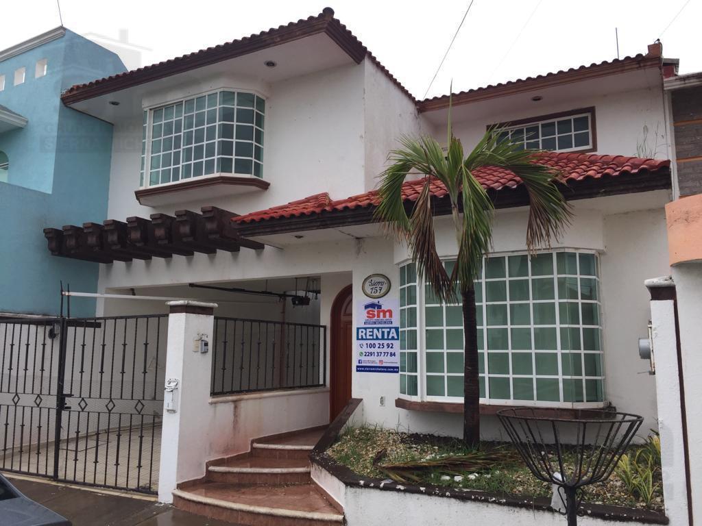 Foto Casa en Renta en  Fraccionamiento Costa de Oro,  Boca del Río  CASA EN RENTA COSTA DE ORO SIERRA