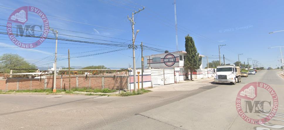 Foto Terreno en Renta en  Fraccionamiento Lomas del Sur,  Aguascalientes  Av. Heroe inmortal