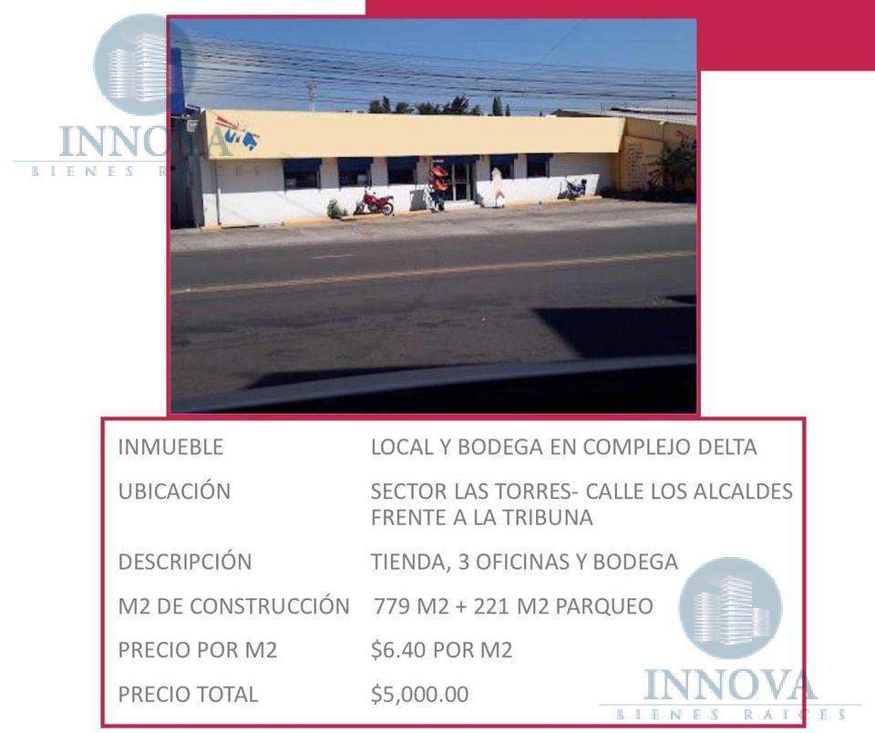 Foto Bodega Industrial en Renta en  Las Torres,  Tegucigalpa  Bodega En Renta  ALTAMENTE COMERCIAL 779m2 Calle Principal Zona Sur Tegucigalpa