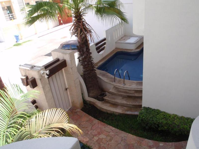 Foto Departamento en Renta en  Playa del Carmen Centro,  Solidaridad  Departamento  2rec amueblado  5ta Bis Calle 38 Playa del Carmen P1369