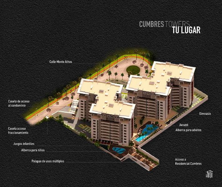 Foto Departamento en Venta en  Residencial Cumbres,  Cancún  Departamento en Venta en Cancún, CUMBRES TOWERS,  A,  3 Recámaras  en Cumbres