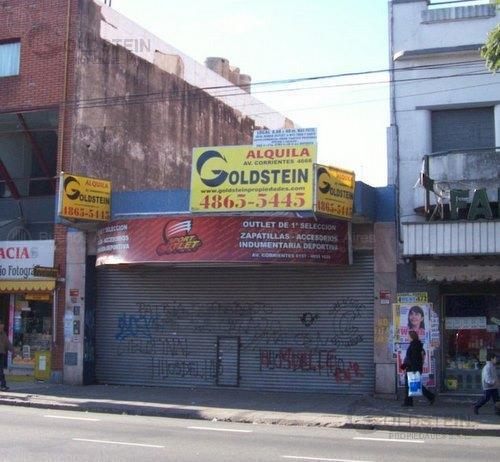 Foto Local en Alquiler en  Villa Crespo ,  Capital Federal  Corrientes 6100