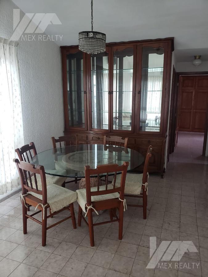 Foto Departamento en Renta en  Supermanzana 32,  Cancún  Departamento en Renta Amueblado, Sm 32, Cancún Q. Roo, $8,500, Clave CLAU652021