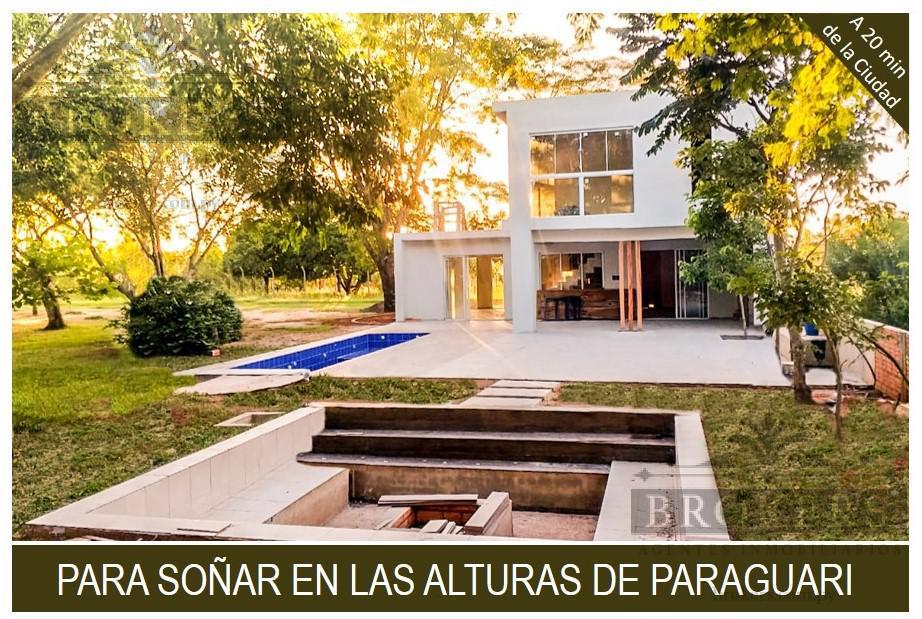 Foto Casa en Venta en  Paraguarí ,  Paraguarí  Vendo hermosa casa amoblada en la tranquilidad de las alturas de Paraguari.