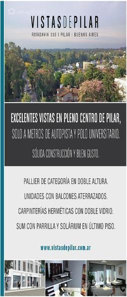 Departamento-Venta-Pilar-vistas de pilar  e/Rivadavia