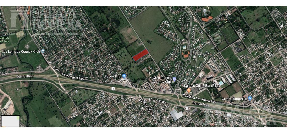 Foto Terreno en Venta en  Pilar ,  G.B.A. Zona Norte  Oliden y Panamericana