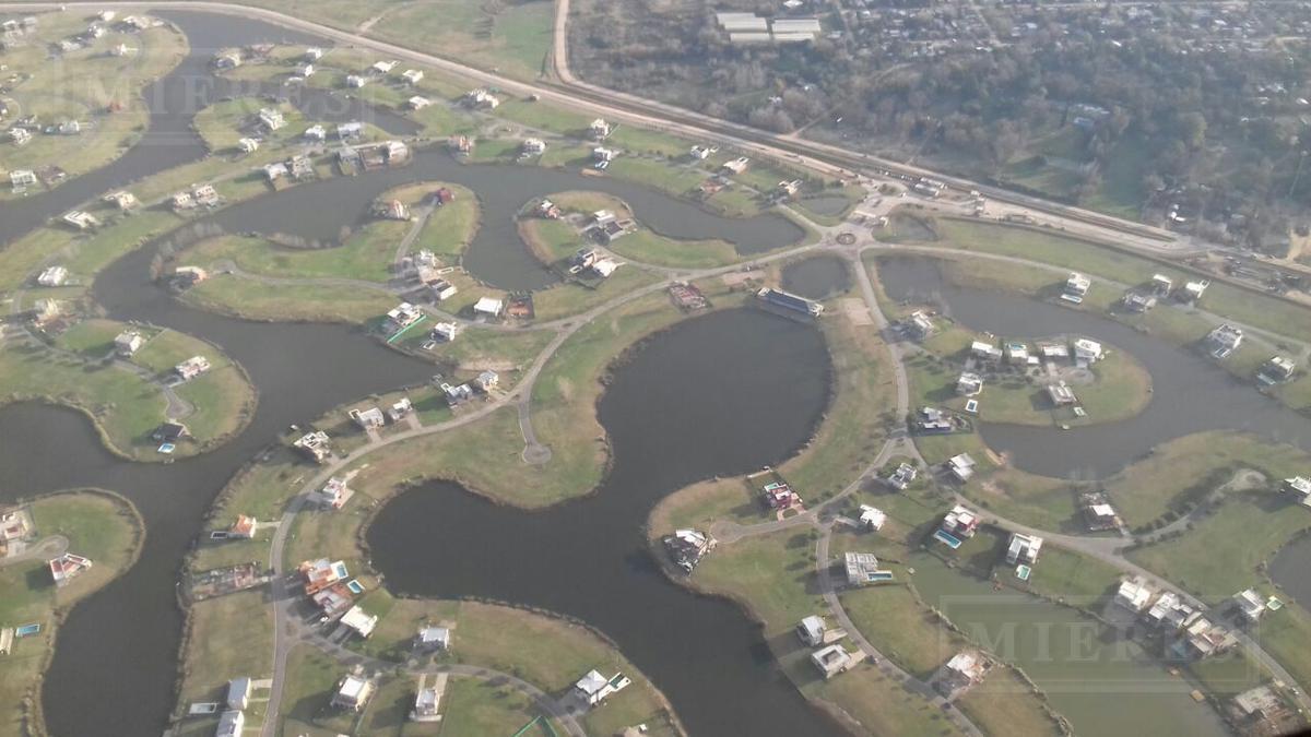 Lote en venta El Canton  Barrio Norte a la laguna