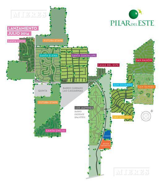 MIERES Propiedades- Terreno de 586 mts en Pilar del Este- Santa Elena