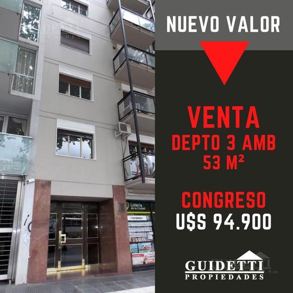 Foto Departamento en Venta |  en  Congreso ,  Capital Federal  Av. Rivadavia al 1500