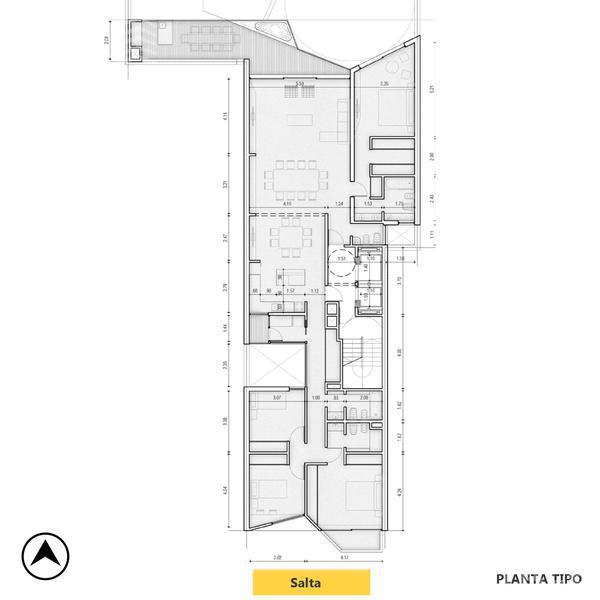 Venta departamento 3+ dormitorios Rosario, zona Centro. Cod CBU11889 AP1143036. Crestale Propiedades