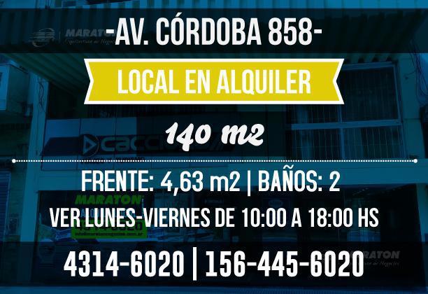 Foto Local en Alquiler en  Microcentro,  Centro  Av. Córdoba al 800
