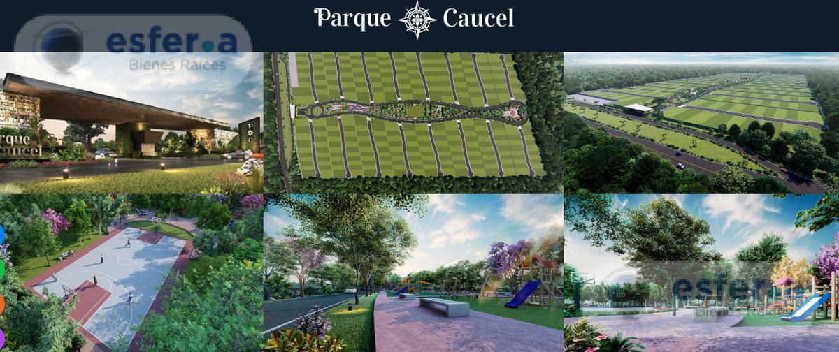 Foto Terreno en Venta en  Pueblo Caucel,  Mérida  Terrenos en venta al Poniente de Mérida 400 m2 Parque Caucel