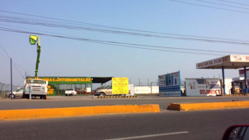 Foto Terreno en Venta en  Las Bajadas,  Veracruz  TERRENO EN VENTA AV. J.B. LOBOS VERACRUZ