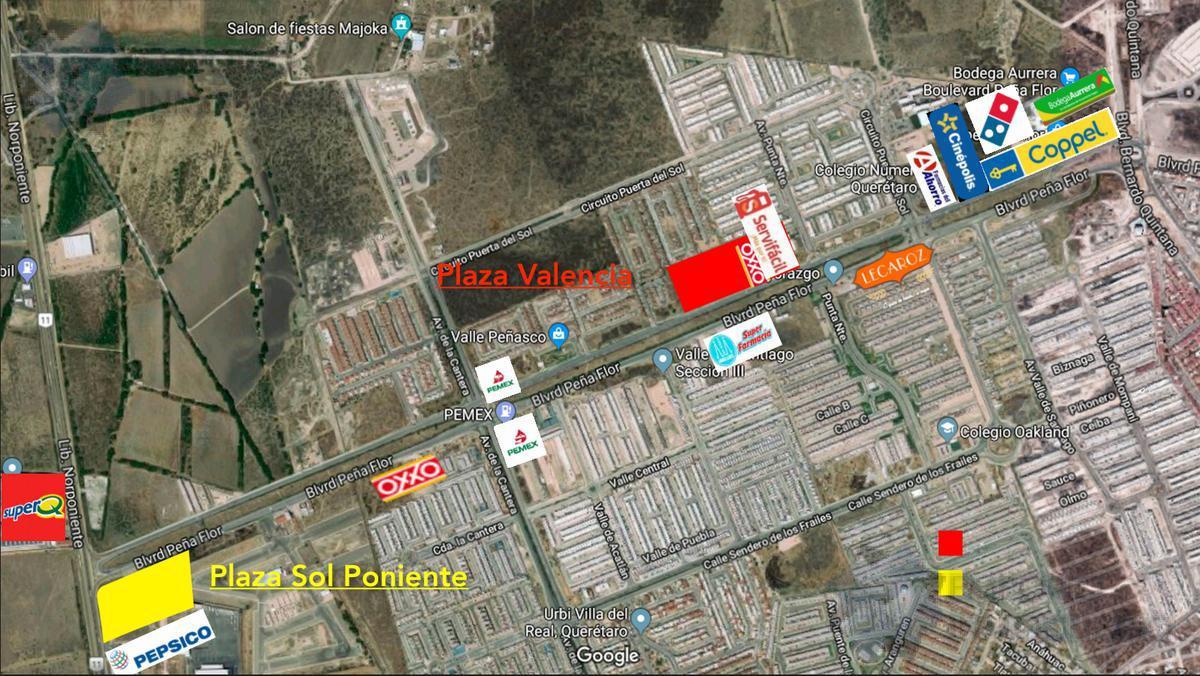 Foto Local en Renta en  Fraccionamiento Ciudad del Sol,  Querétaro  Local Renta Plaza Valencia $28,280 Priher EQG1