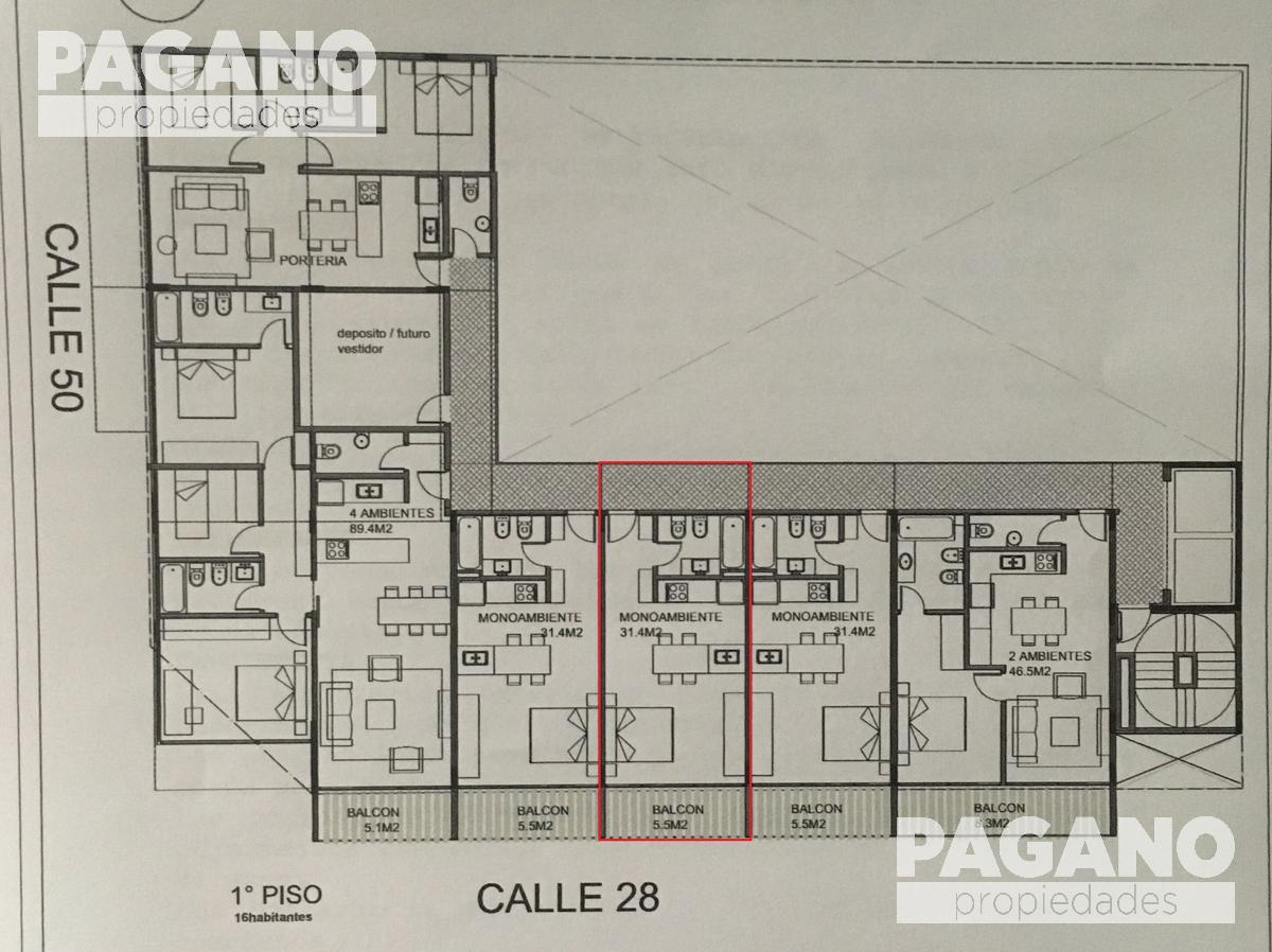 Foto Departamento en Venta en  La Plata ,  G.B.A. Zona Sur  50 esquina 28