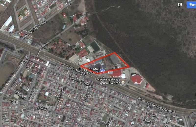 Foto Terreno en Renta en  Chacón Sahop,  Mineral de la Reforma  Terreno en Renta en Pachuca para desarrollar hotel