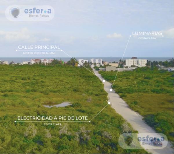 Foto Terreno en Venta en  Pueblo Chicxulub Puerto,  Progreso    Costa Clara 3 Vive el mar de Yucatán