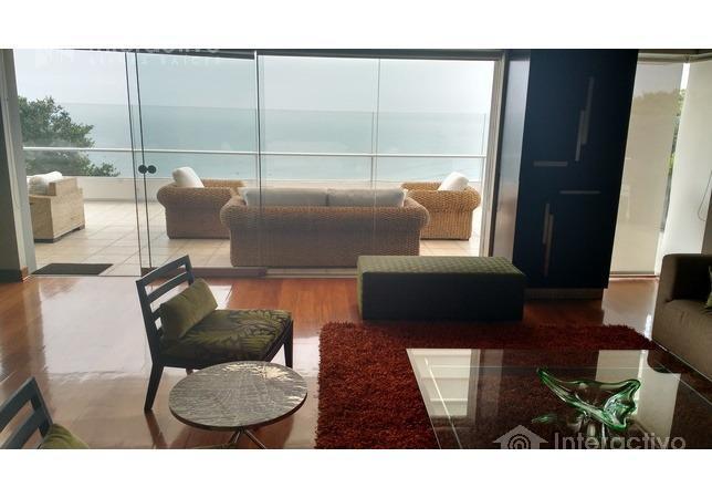 Foto Departamento en Alquiler en  Chorrillos,  Lima          Malecon Grau  Triplex Penthouse con vista al mar
