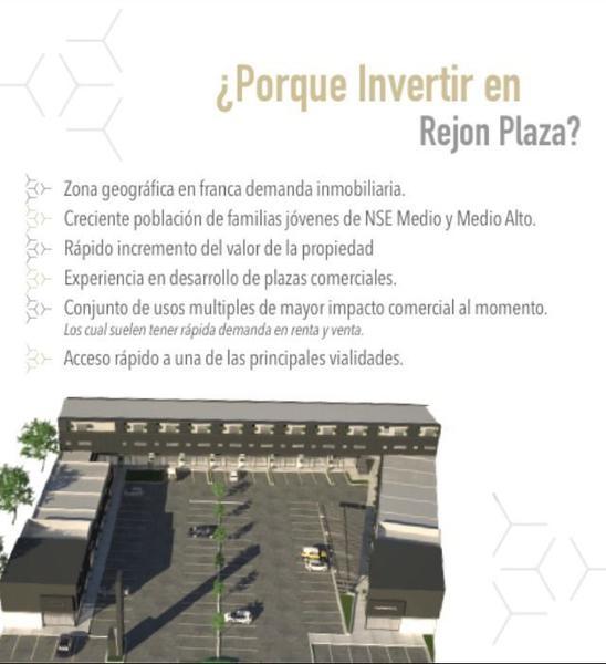 Foto Local en Venta en  Fraccionamiento Diamante Reliz,  Chihuahua  LOCAL EN VENTA PARA INVERSIÓN YA RENTADO EN REJÓN PLAZA ZONA RELIZ