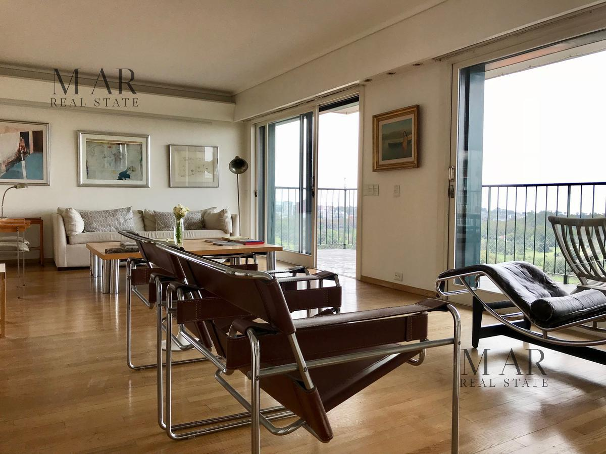 Hermoso depto con vista al rio, polo y golf de Palermo
