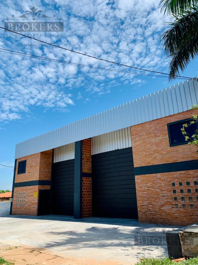 Foto Depósito en Alquiler en  Mariano Roque Alonso ,  Central  Vendo/Alquilo Deposito de 330M2 En M.R.A