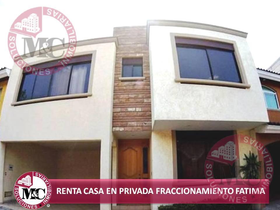 Foto Casa en Renta en  FAtima,  Aguascalientes  MC RENTA CASA EN FRACCIONAMIENTO FÁTIMA