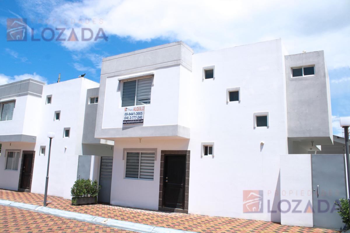 Foto Casa en Alquiler en  Ciudadela Italiana,  Salinas  Alquilo casa Salinas urbanización privada amoblada