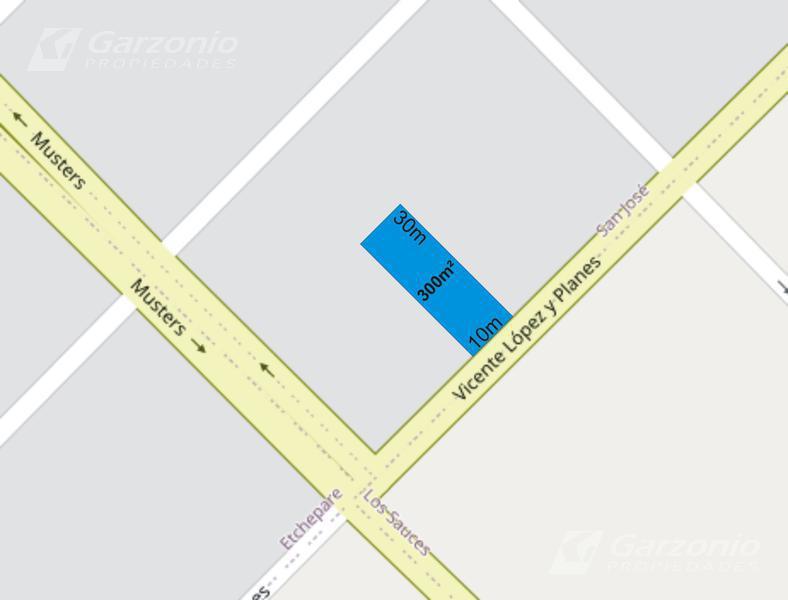 Foto Terreno en Venta en  Trelew ,  Chubut  Avenida Lopez y Planes  a metros de Musters