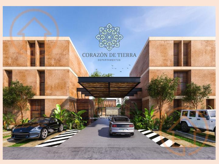 Foto Departamento en Venta en  Pueblo Temozon Norte,  Mérida  CORAZON DE TIERRA