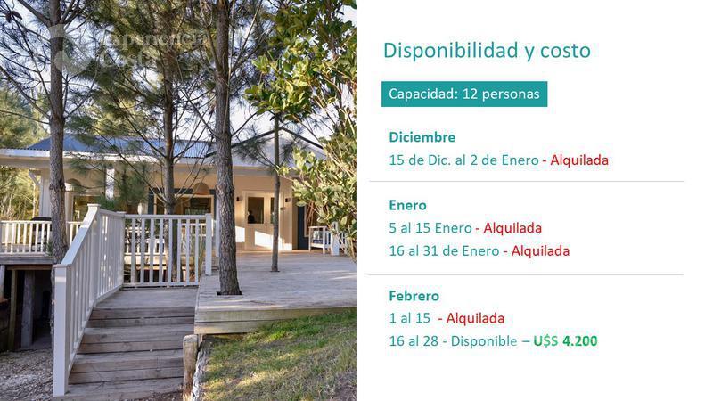 Foto Casa en Alquiler en  Barrio Costa Esmeralda,  Pinamar  Pez Espada - Deportivo - Lote 394